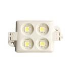 Светодиодный модуль, smd 5050, четыре диода, квадратный, белый