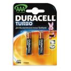 Duracell Turbo LR03 (AAA), 2 в блистере