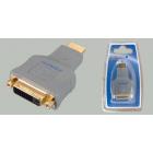 Переходник штекер HDMI - гнездо DVI-D