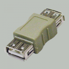 Переходник гнездо USB A - гнездо USB A
