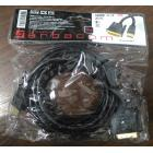 АРБАКОМ HDMI-DVI, 3 метра, 2 ферритовых кольца