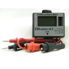 Измеритель ёмкости и ESR электролитических конденсаторов ESR-micro v4.2