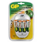 Зарядное устройство GP Quick 3 (PB27GS270-C4) + 4 аккумулятора GP 2700 мАч