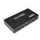 HDMI сплиттер (разветвитель) 1х4, активный (с питанием)