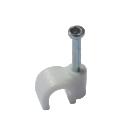 Скоба для крепления плоского кабеля Netko, 7mm
