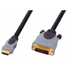 Luxmann HDMI-DVI, 1.5 метра, 467-001