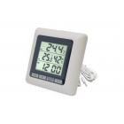 Термометр цифровой TM 1011 с часами