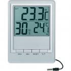 Термометр цифровой TM 1026H, серебристый