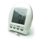Термометр цифровой TM 1035 T с часами и гигрометрометром