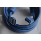 Шнур USB 3.0 штекер A - штекер micro B, 1,5 метра, 2 феррита
