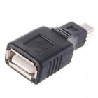Переходник гнездо USB A - штекер mini USB B (5pin)