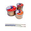 Акустический кабель Belsis 2х6,0мм2 (10 Ga) прозрачный, 100 м