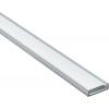 Профиль для светодиодной ленты П-образный, 2 метра, с заглушкой-рассеивателем