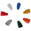 Изолирующий колпачок(кембрик) для разъемов 8p8c(RG11), цветной, в ассортименте