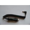 Шнур питания - штекер прикуривателя - штекер 2,5/5,5 мм, витой