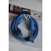 Шнур USB 3.0 штекер A - гнездо A, 1,5 метра, 2 феррита