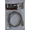 Шнур штекер USB micro B - штекер USB A, 1,5 метра, 2 феррита